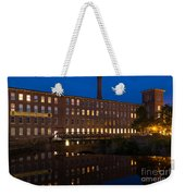 Cocheco Mills At Twilight Dover New Hampshire Weekender Tote Bag
