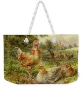 Cochin China Fowls Weekender Tote Bag