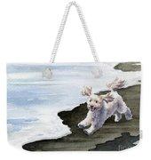 Cockapoo At The Beach Weekender Tote Bag
