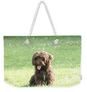 Cockapoo Puppy Weekender Tote Bag