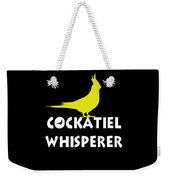 Cockatiel Whisperer Weekender Tote Bag