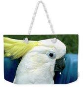 Cockatoo Bird Weekender Tote Bag