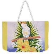 Cockatoo Weekender Tote Bag