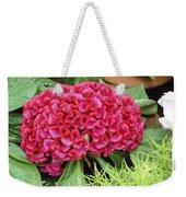 Cockscomb Flower Weekender Tote Bag