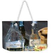Cocktails And Mustard Weekender Tote Bag