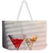 Cocktails With Strainer Weekender Tote Bag
