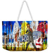 A Cocoa Beach Welcome Weekender Tote Bag