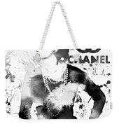 Coco Chanel Grunge Weekender Tote Bag