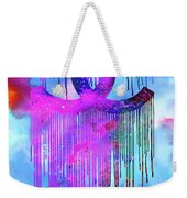 Coco Chanel Liquidated Logo Colorful Weekender Tote Bag