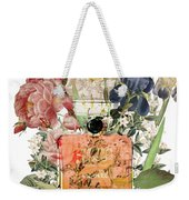 Coco Mademoiselle Notes Weekender Tote Bag