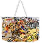 Cocoa Beach Pier/surf Festavil Weekender Tote Bag