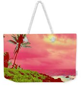 Coconut Palm Makai For Pele Weekender Tote Bag