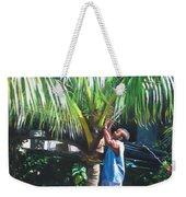 Coconut Shade Weekender Tote Bag