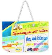 Coconut Shakes Weekender Tote Bag