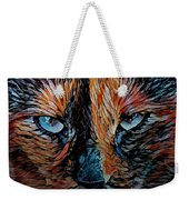Coconut The Feral Cat Weekender Tote Bag