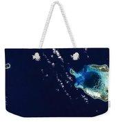 Cocos Islands Weekender Tote Bag by Adam Romanowicz