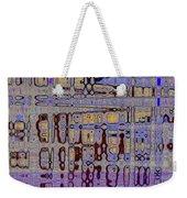 Code Abstract Weekender Tote Bag