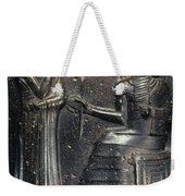Code Of Hammurabi (detail) Weekender Tote Bag by Granger