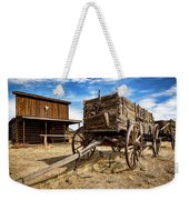 Cody Wagon Train Weekender Tote Bag