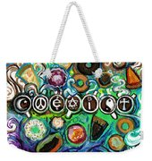 Coexisting With Coffee And Donuts Weekender Tote Bag