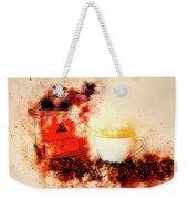 Coffe Grinder Weekender Tote Bag
