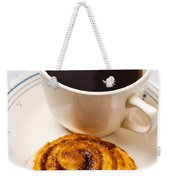 Coffee And Breakfast Roll Weekender Tote Bag