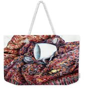 Coffee And Cashmere Weekender Tote Bag