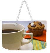 Coffee And Chocolate Muffin Weekender Tote Bag