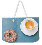 Coffee And Donut Weekender Tote Bag
