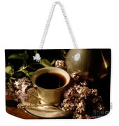 Coffee And Lilacs In The Morning Weekender Tote Bag