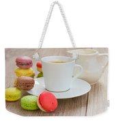 Coffee  And Macaroons Weekender Tote Bag