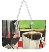 Coffee And Morning News Weekender Tote Bag