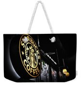 Coffee Break Weekender Tote Bag by Spencer McDonald