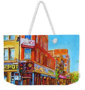 Coffee Depot Cafe And Terrace Weekender Tote Bag