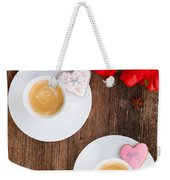 Coffee For Two Weekender Tote Bag