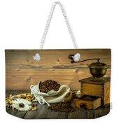 Coffee Grinder Weekender Tote Bag
