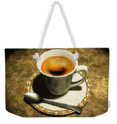 Coffee - Id 16217-152032-0430 Weekender Tote Bag