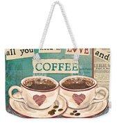 Coffee Love-jp3593 Weekender Tote Bag