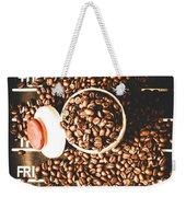Coffee On The Menu Weekender Tote Bag