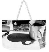 Coffee Poetry Weekender Tote Bag