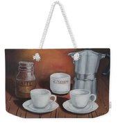 Coffee Set Weekender Tote Bag