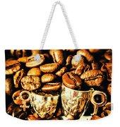 Coffee Shop Companions  Weekender Tote Bag