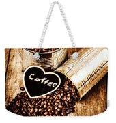 Coffee Shop Love Weekender Tote Bag