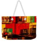 Coffee Shop Weekender Tote Bag