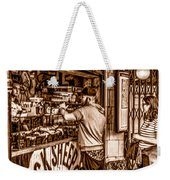 Coffee Time At The Station. Weekender Tote Bag