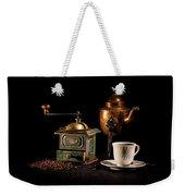 Coffee-time Weekender Tote Bag