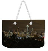 Coffee Town Weekender Tote Bag