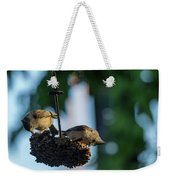 Coffee With The Birds Weekender Tote Bag
