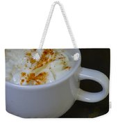 Coffee With Whipped Cream And Spices Weekender Tote Bag