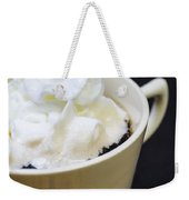 Coffee With Whipped Cream Weekender Tote Bag